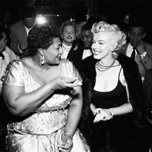 Jazz News How Marilyn Monroe Changed Ella Fitzgerald S Life
